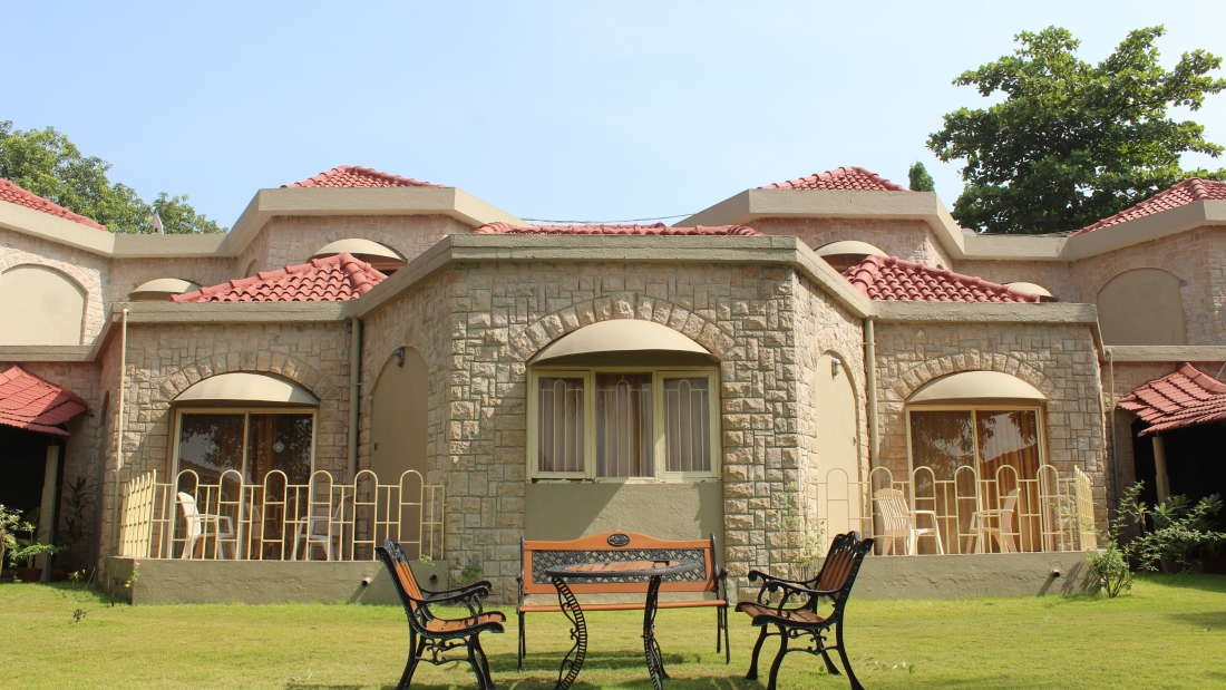 Ras Resorts in Silvassa Facade Lobbies and Temple 9