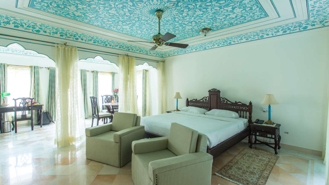 RoyalSuite4 Royal Heritage H Royal Heritage Haveli by Niraamaya Retreats Jaipur Hotel in Rajasthan