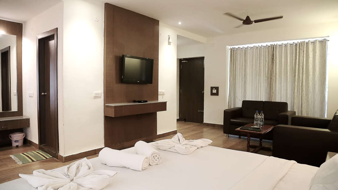 Deluxe Room Sai Priya Beach Resort Vizag
