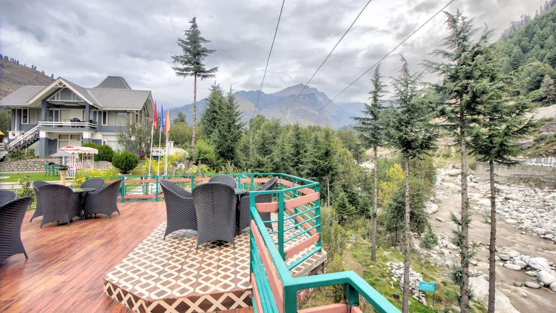The Highland Park Manali, Resort in Manali, Riverside hotel in Manali4