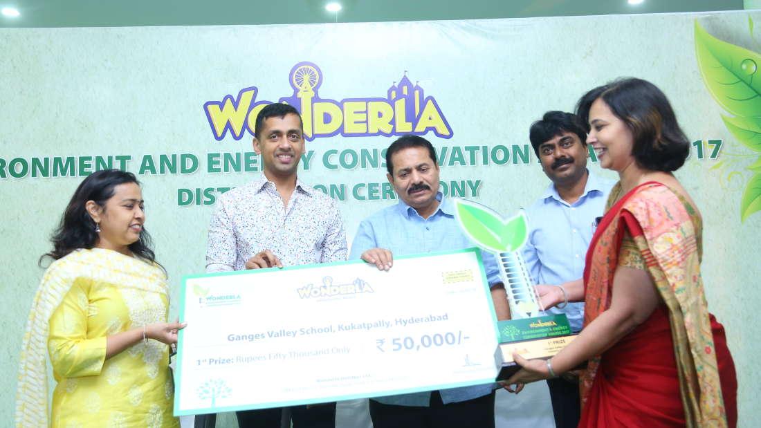 Wonderla Award function image Hyderabad