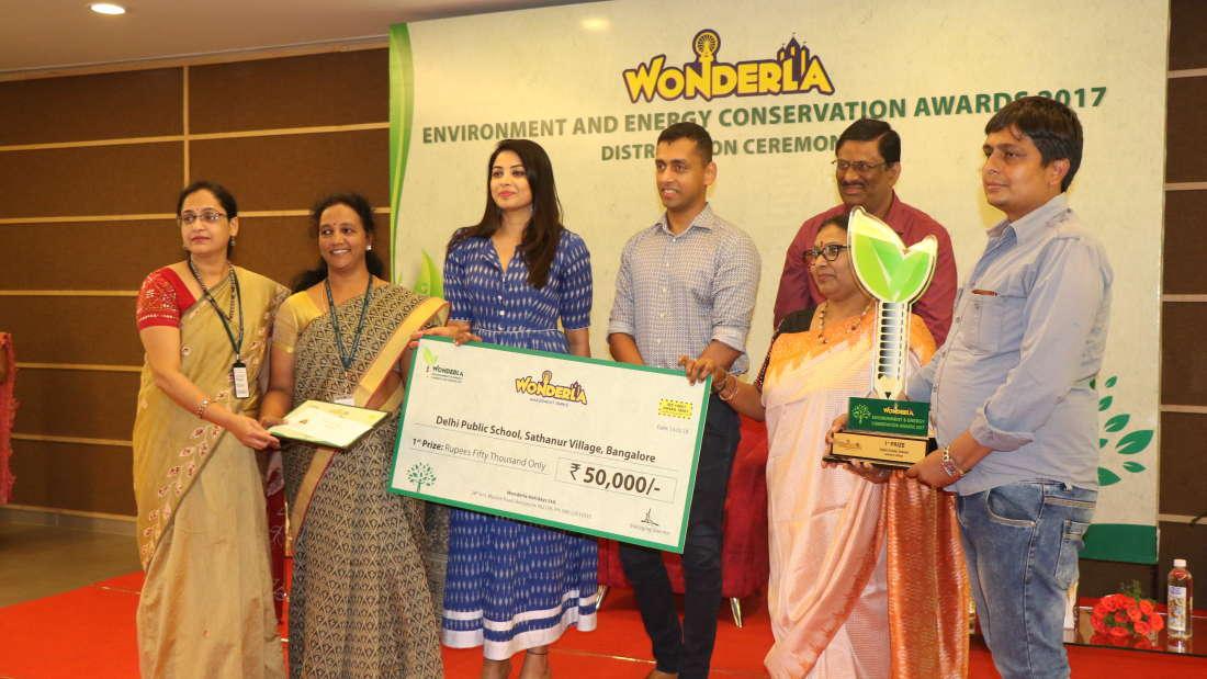 Wonderla Award function image
