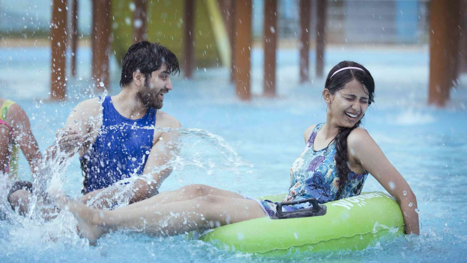 Join told hot young teen water park