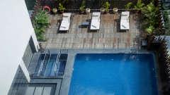Pool at efcee sarovar portico, business hotels in bhavnagar