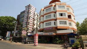 Hotel Darshan Palace, Mysore Mysore Hotel facade Hotel Darshan Palace Mysore
