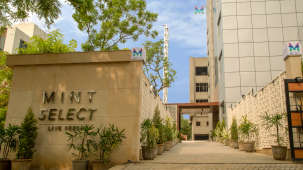 Facade of the Mint Select, Noida, Hotel Mint Select, Noida