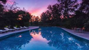 Swimming Pool at Jehan Numa Retreat-Luxury Resort in Bhopal