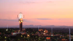 Exterior View of Wonderla Amusement Park Bangalore