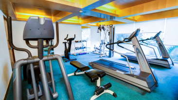 Fitness Center Radha Hometel Bangalore