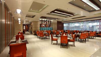 Tangerine at Mahagun Sarovar Portico Vaishali, best restaurants in vaishali 1