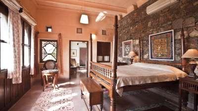 Neemrana Fort Palace Neemrana Adi Mahal Hotel Neemrana Fort Palace Neemrana Rajasthan