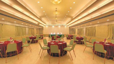 Banqet Hall at Biverah hotel and suites Trivandrum Thiruvananthapuram