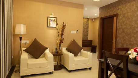 Hotel Abaam, Kochi Cochin Sapphire Suite Room Hotel Abaam Kochi