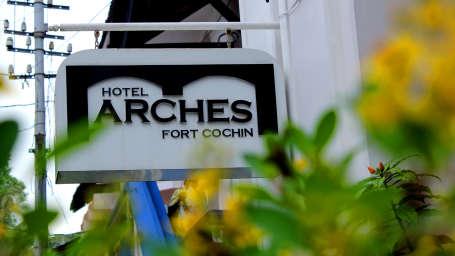 Hotel Arches, Fort Kochi Kochi exterior view 3 Hotel Arches Fort Kochi