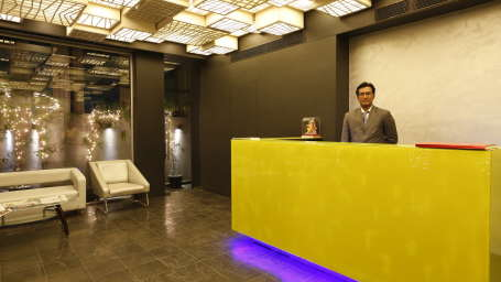 Reception at  Hotel Dragonfly, Andheri East Hotels