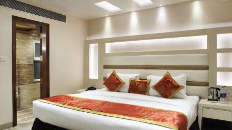 Hotel Hari Piorko - Paharganj, New Delhi New Delhi Executive Room New Wing Hotel Hari Piorko Paharganj New Delhi 7