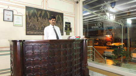 Hotel Raghuraj Palace Jaipur Lobby and Reception Hotel Raghuraj Palace Jaipur 2