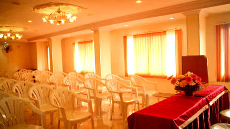 Conference Hall at Hotel Swagath in Bangalore Hotel Near Majestic Railway Station 15