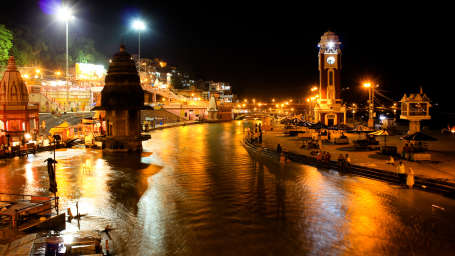 Har Ki Pauri near Hotel Trishul - Budget Hotels, Har ki Pauri Hotels, Haridwar Hotels