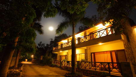 Garden facing Block at Infinity Resorts Corbett, Rooms in Uttarakhand 6