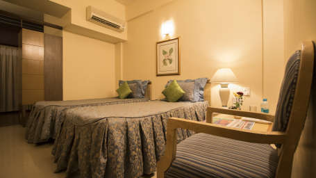 Deluxe Room with twin bed at Kamfotel Hotel Nashik, Hotels in nashik