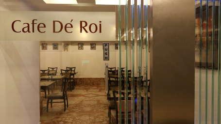 Cafe De Roi, Coffee Shop at Le ROI Delhi Hotel Paharganj