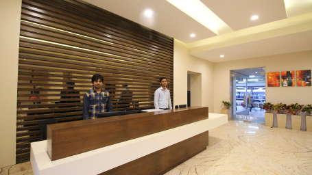 Le ROI Raipur Hotel Raipur Reception 1 of Le ROI Raipur Hotel