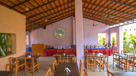 Sea Wave Multi-Cuisine Restaurant in Goa at Lotus Eco Beach Resort Benaulim Goa in Benaulim 15