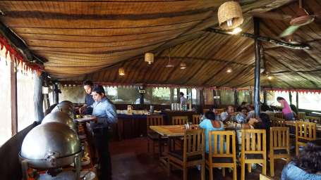 Lotus Eco Resort Konark, Restaurants in Konark Best place to eat in Konark