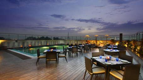Terrace Grill at Mahagun Sarovar Portico Vaishali, ghaziabad restaurants 4