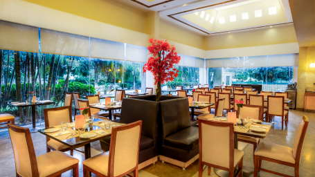 Dining at Radha Hometel Bangalore, hotels in bangalore 2