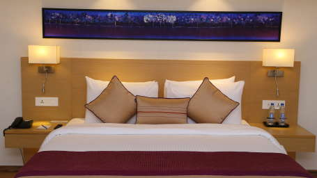 Deluxe Rooms Sarovar Portico Ahmedabad 6
