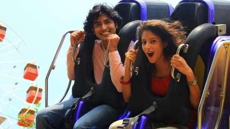 Thriller Rides - Twin Flip Monster at Wonderla Kochi Amusement Park