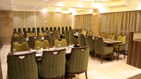 Restaurant at Amara Vacanza Grand Inn, Resort near Calangute Beach, Goa beach resort