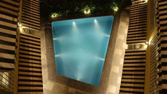 Swimming Pool at Amara Vacanza Grand Inn,  Resort near Calangute Beach, Goa beach resort