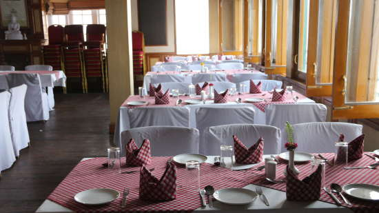 Central Heritage Resort & Spa, Darjeeling Darjeeling Regal Dining Central Heritage Resort and Spa Hotel in Darjeeling