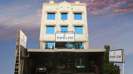 Emblem Hotel, Sector 14, Gurugram Gurugram Emblem Hotel Gurugram