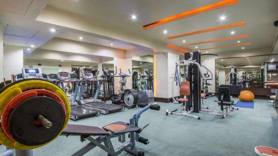 Hotel Bliss Luxury Hotel in Tirupati Online Booking Gym 1