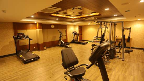 Gym Hotel Flamingo Inn Trivandrum 2