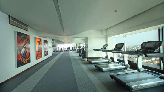 Gym2 Hotel Gokulam Grand Bangalore