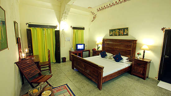 Hotel Room in Jodhpur, Hotel Jhalamand Garh, Jodhpur , Deluxe Room