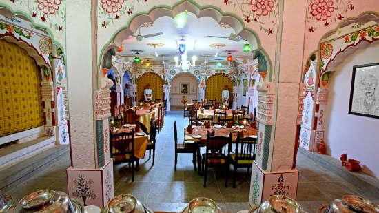 Multi-Cuisine Restaurant in Jodhpur, Hotel Jhalamand Garh, Jodhpur