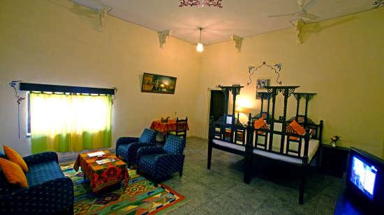 Stay in Jodhpur, Hotel Jhalamand Garh, Jodhpur, Premium Rooms