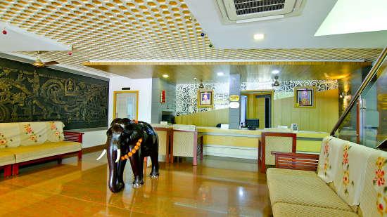 Travel Desk, Hotel Sree Gokulam Vanamala, Hotel In Guruvayur