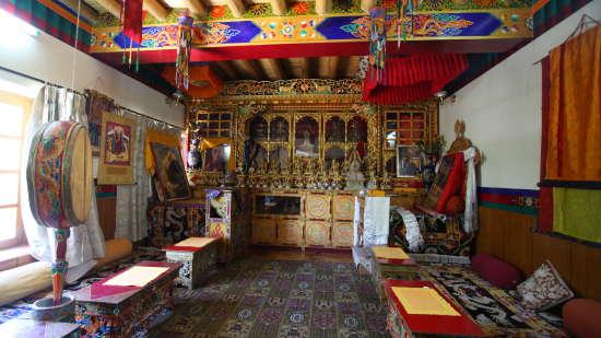 Hotel The Kaal, Leh, Ladakh Ladakh Meditation Room Hotel The Kaal Leh Ladakh