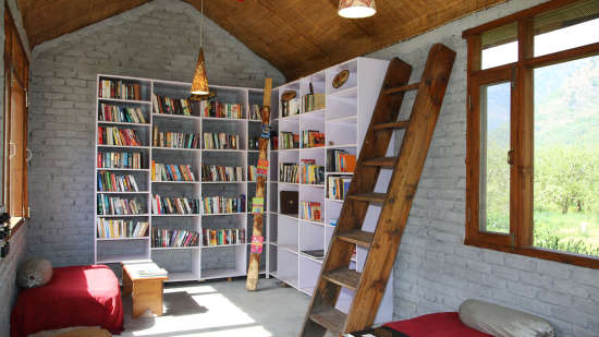 Library LaRiSa Mountain Resort Manali 2 - Manali Hotels