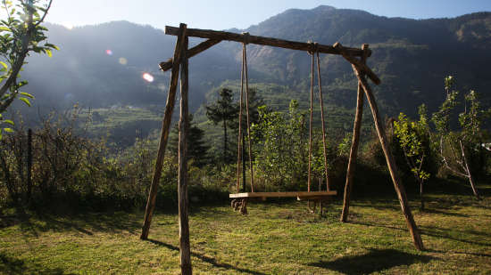 Swing Area at Larisa Mountain Resort in Manali - Things to do in Manali