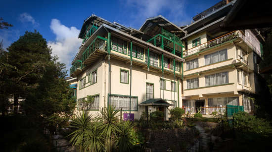 Facade at Mount Himalayan Resort in Darjeeling 1
