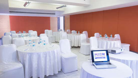 Banquet Halls at Radha Hometel Bangalore, 5-star hotels in bangalore