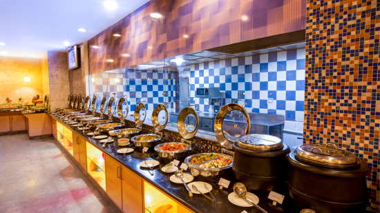 Dining Radha at Hometel Bangalore, Resorts 5
